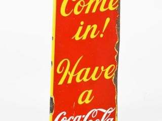 COME IN  HAVE A COCA COlA SSP PAlM PUSH