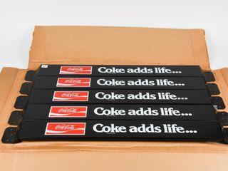 RARE 1977 COCA COlA 5 DOOR PUSH BARS CARTON  NOS