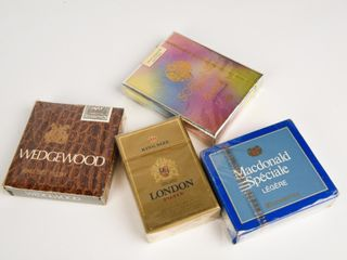 GROUPING OF 4 COllECTOR CIGARETTE PACKAGES NOS