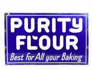 EARlY PURITY FlOUR  BEST FOR All BAKING  SSP SIGN