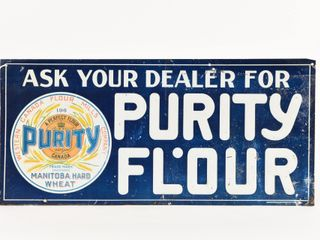 ASK YOUR DEAlER FOR PURITY FlOUR EMBOSSED SST SIGN