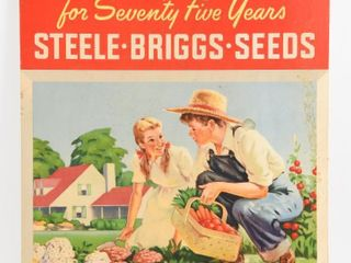 STEElE BRIGGS  SEEDS SERVING CANADA 75 YEARS ADV