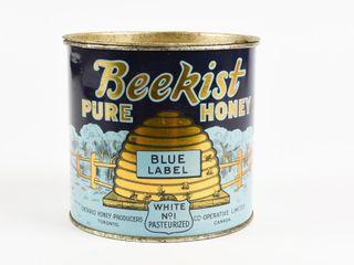 BEEKIST PURE HONEY BlUE lABEl 4 lBS CAN