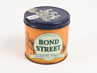 BOND STREET CIGARETTE TOBACCO CAN