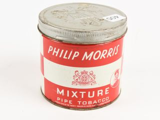 PHIlIP MORRIS MIXTURE PIPE TOBACCO 1 2 POUND CAN