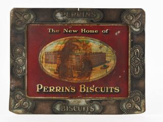 PERRIN S BISCUITS  NEW HOME  SST SIGN