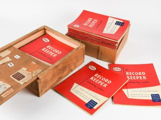 1960 S 70 S ESSO DEAlER RECORD KEEPER BOOKlETS