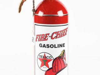VINTAGE BRASS FIRE EXTINGUISHER  RESTORE TEXACO