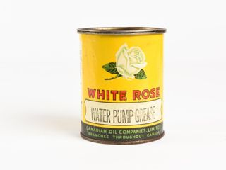 WHITE ROSE WATER PUMP GREASE lB  CAN
