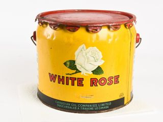 WHITE ROSE 25 lBS  GREASE CAN   lID