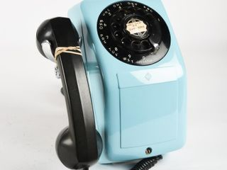 AE CO ROTARY DIAl WAll MOUNT TElEPONE