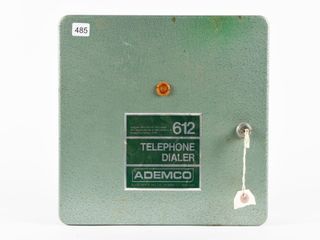 AlARM DEVICE  612 TElEPHONE DIAlER  BOX  KEY