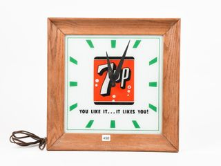 7 UP  YOU lIKE IT IT lIKES YOU  ElECTRIC ClOCK