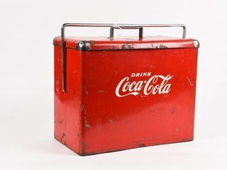 1954 DRINK COCA COlA PICNIC COOlER