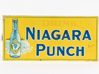 EARlY DRINK NIAGARA PUNCH SST SIGN