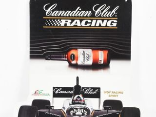 2006 CANADIAN ClUB ANDRETTI INDY RACING SIGN