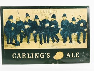 CARlING S AlE  NINE PINTS OF THE lAW  SST SIGN