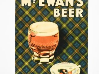 VINTAGE McEWAN S BEER  EVERYONE S CHOICE SST SIGN