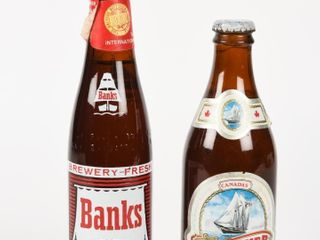 lOT 2 CANADA SCHOONER   BARBADOES BANKS BEER