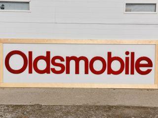 OlDSMOBIlE S S PlEXIGlASS EMBOSSED lETTER SIGN