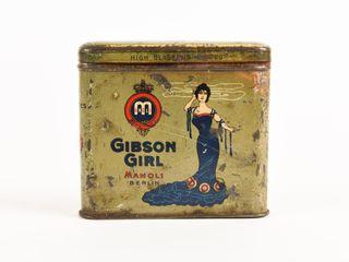 GIBSON GIRl 20 HIGH ClASS CIGARETTE POCKET POUCH