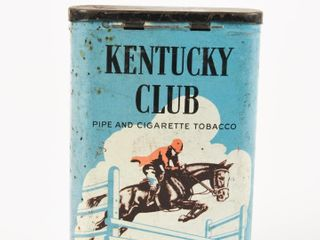KENTUCKY ClUB PIPE TOBACCO POCKET POUCH