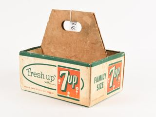 FRESH UP  WITH 7UP FAMIlY SIZE CARTON CARRIER