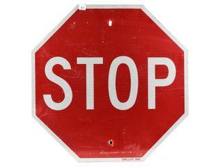 1996 OWl lITE S S METAl STOP SIGN
