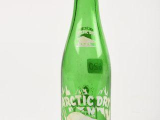 ARCTIC DRY GINGER AlE 10 OZ  GREEN GlASS BOTTlE