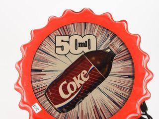 COKE 500 Ml PlASTIC ADVERTISING lIGHT BOX
