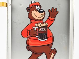 SONIC DRIVE IN SERVING TRAY   A W ROOT BEER DECAl