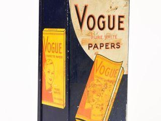 VOGUE CIGARETTE PAPERS METAl DISPENSER