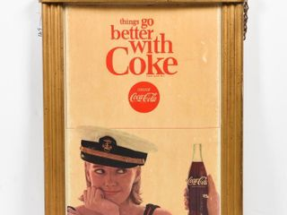 THINGS GO BETTER WITH COKE CARDBOARD POSTER
