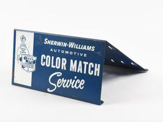 SHERWIN WIllIAMS AUTO COlOR MATCH SERVICE STAND