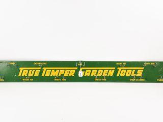 TRUE TEMPER GARDEN TOOlS S S METAl HANGING RACK