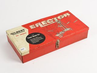 GIlBERT ERECTOR NO 10041 METAl POWER MODEl SET