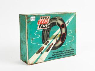 REMA TIP TOP VUlCANIZER MATERIAl METAl BOX