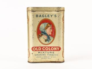 BAGlEY S OlD COlONY SMOKING TOBACCO POCKET POUCH