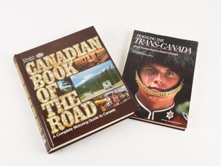 GROUPING 2 CANADIAN TRAVEl BOOKS
