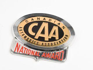 CANADIAN CAA NATIONAl AWARD EMBlEM  BOX   NOS
