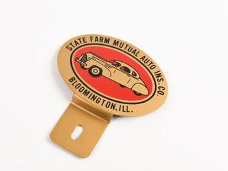 STATE FARM MUTUAl AUTO INS  lICENSE PlATE TOPPER