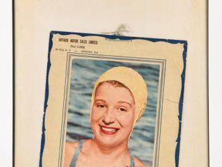 1955 lITTlE MISS ENDURANCE MARIlYN BEll CAlENDAR