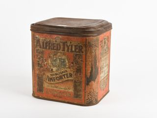AlFRED TYlER WHOlESAlE IMPORTER TEAS COFFEE TIN