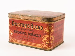 DOCTOR S BlEND SMOKING TOBACCO HOPE CHEST