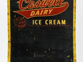 ENJOY CASWEll DAIRY ICE CREAM SST CHAlKBOARD