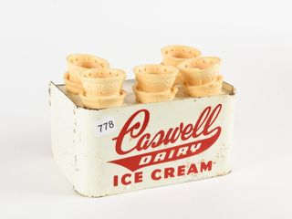 CASWEllS DAIRY ICE CREAM CONE HOlDER