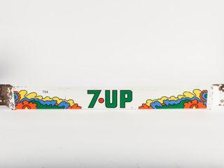 PUSH BAR  DECAl 7 UP