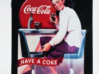 1991 COCA COlA HAVE A COKE SST SIGN