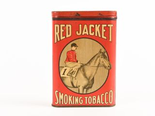 RED JACKET TOBACCO  A SURE WINNER  POCKET POUCH