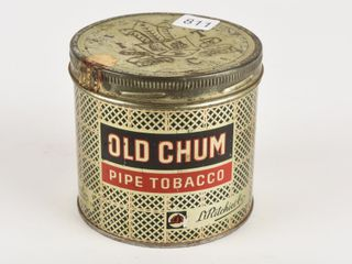 OlD CHUM PIPE TOBACCO 1 2 POUND CAN